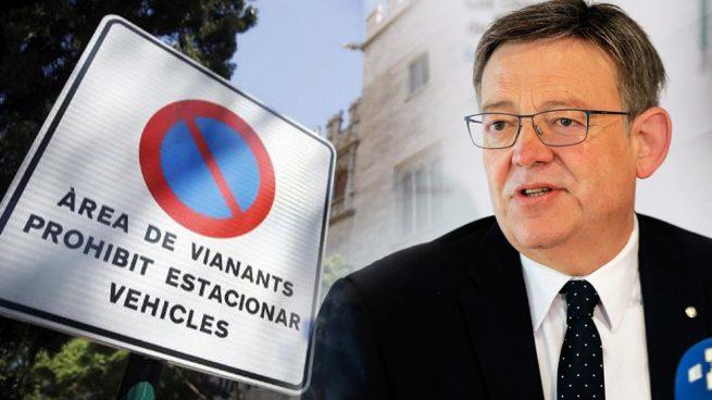 Puig destierra el español: subvenciona a los ayuntamientos que rotulen «exclusivamente en valenciano»