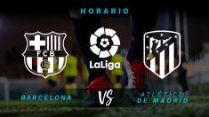 Barcelona y Atlético de Madrid se juegan la Liga este sábado en el Camp Nou.