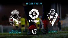 Liga Santander: Real Madrid – Eibar, jornada 31.