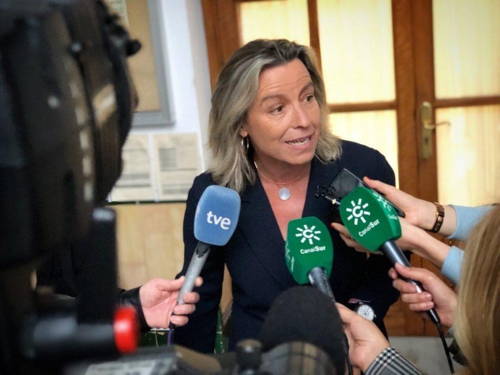 Isabel Albás, diputada de Ciudadanos Andalucía. Foto. EP