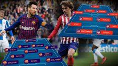 Barcelona – Atlético de Madrid: Partido de Liga Santander