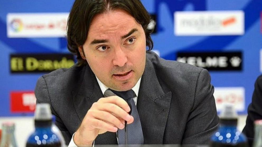 Martín Presa, presidente del Rayo Vallecano (Rayovallecano.es)