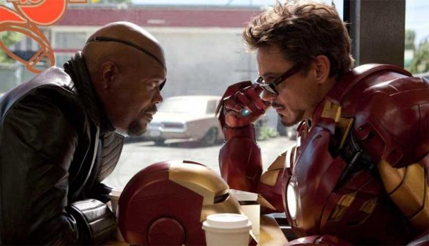 Nick Fury y Tony Stark