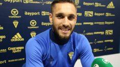 Rober Correa está negociando con el Cádiz para renovar su contrato.