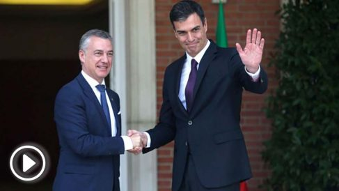 Pedro Sánchez e Iñigo Urkullu. Foto: EFE