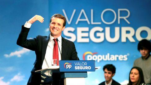 Pablo Casado, líder del PP.