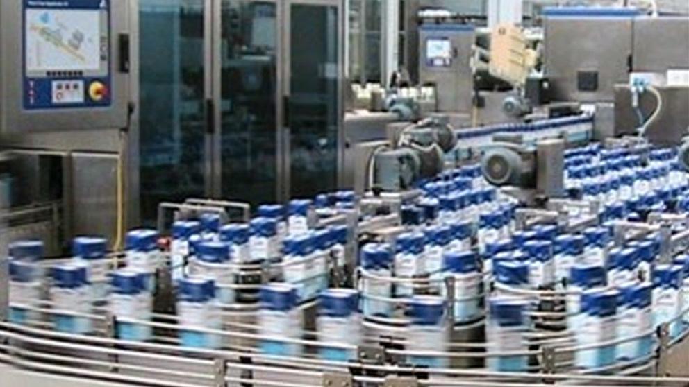 Imagen de una fábrica.