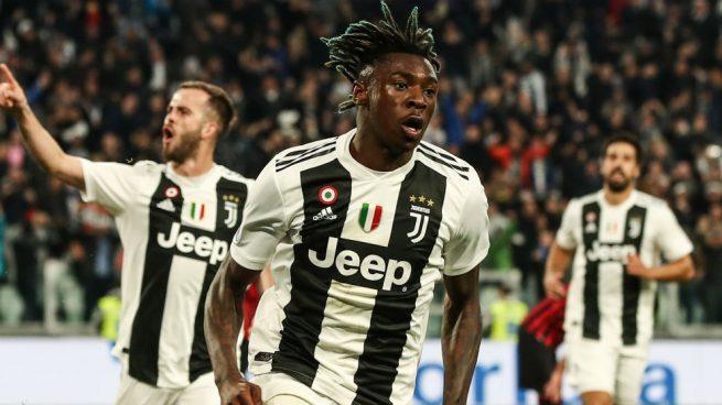Kean culmina la remontada de una Juventus que acaricia el Scudetto