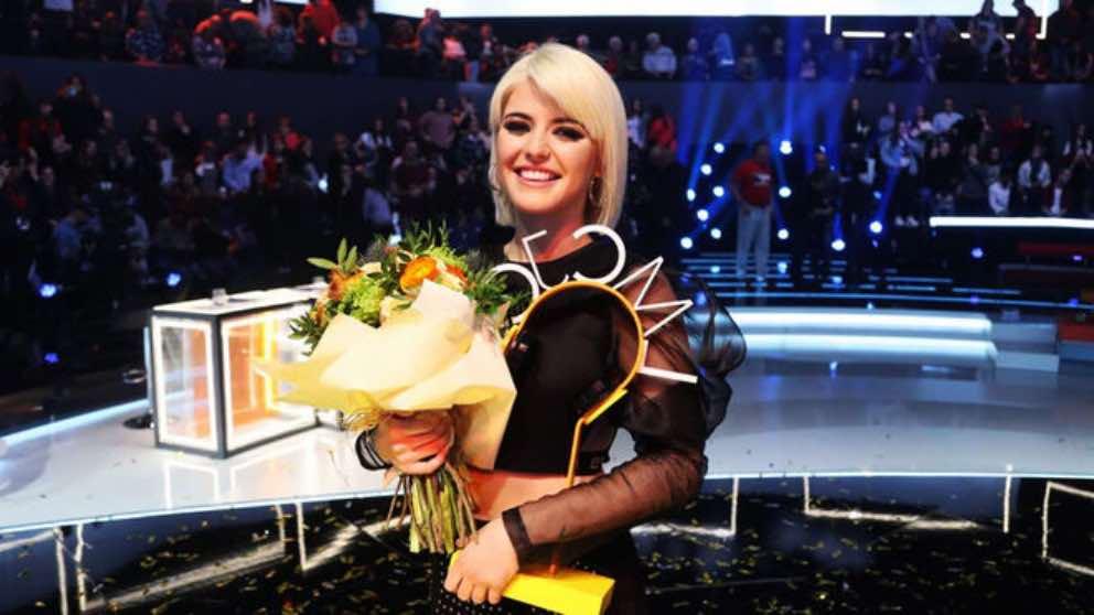 Alba Rachel, ganadora de 'La mejor canción jamás cantada'.