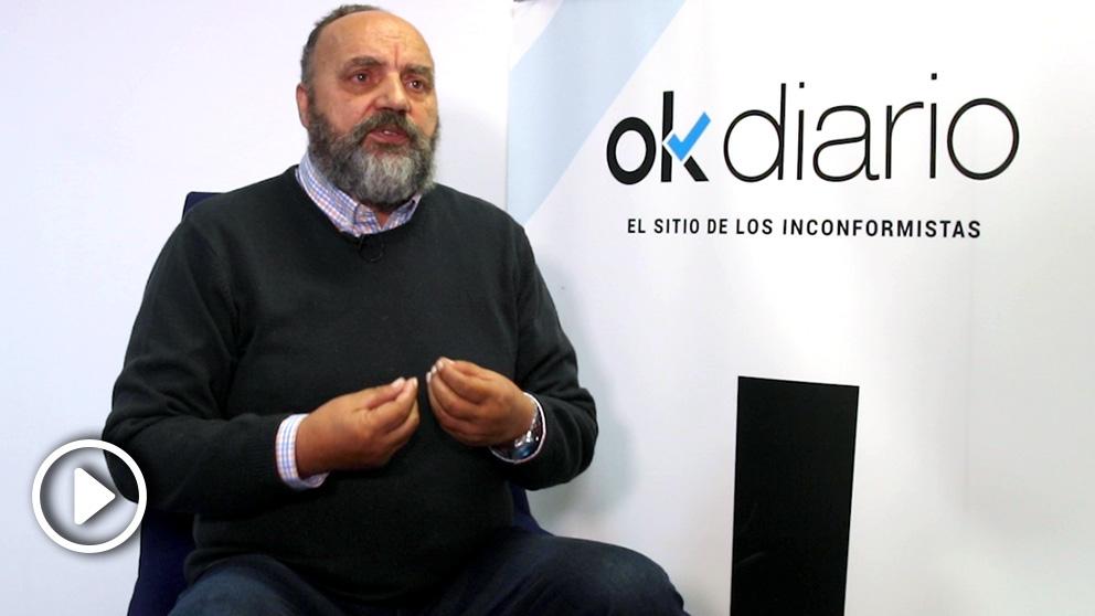El testigo protegido del 'caso Nécora', Manuel Fernández Padín.