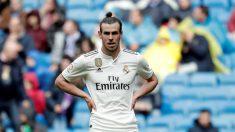 Gareth Bale durante el encuentro del Real Madrid ante el Eibar (Getty).