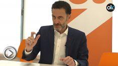 Edmundo Bal, número 4 de Ciudadanos por Madrid al Congreso de los Diputados. (Imagen: Víctor Jiménez)