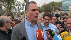 Javier Ortega Smith, secretario general de VOX en Murcia. Foto: Europa press
