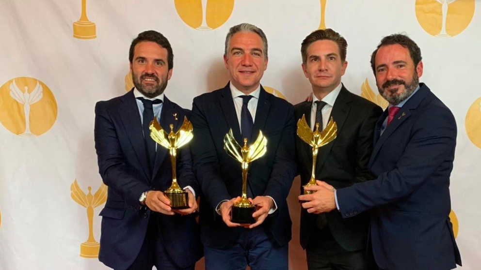 La campaña electoral del presidente andaluz, Juan Manuel Moreno, ha logrado el premio de comunicación política más importante en habla hispana del mundo. Europa press