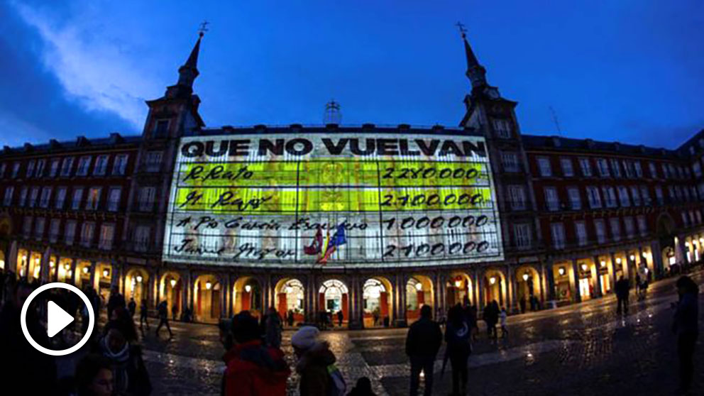 Vídeo de Podemos en la Plaza Mayor de Madrid