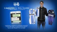 Alexander Szymanowski y las camisetas del Leganes (Cdleganes.com)