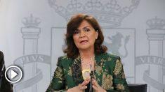 Carmen Calvo. Foto EP