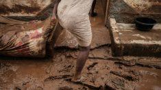 Estragos del ciclón Idai en Mozambique. Foto: AFP
