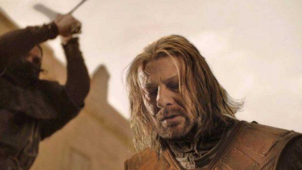 Escena en la que Ned Stark pierde la vida