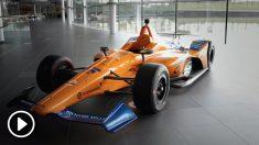 Así es el coche de Alonso para las 500 millas de Indianápolis. (McLaren)
