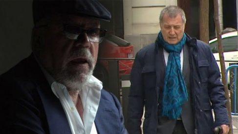 El ex comisario José Manuel Villarejo y el periodista Alberto Pozas
