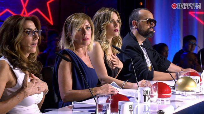 'Got Talent': Así ha afectado la incorporación de Paz Padilla y Eva Isanta al resto del jurado