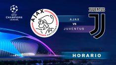 Champions League: Ajax – Juventus| Horario del partido de fútbol de Champions League.
