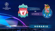 Liverpool – Oporto: ida de los cuartos de final de la Champions League.