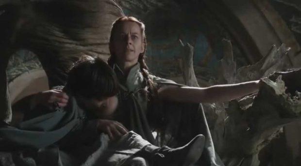 Lisa Arryn y su hijo Robin