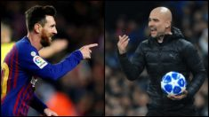 Manchester City y Barcelona son los favoritos para ganar la Champions League.
