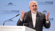 Mohamad Javad Zarif, ministro de Exteriores de Irán. Foto. EP