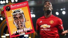 Pogba es protagonista en la portada de France Football.