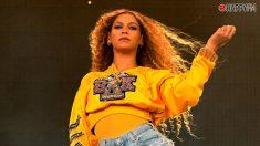 Beyoncé en su actuación en 'Coachella'