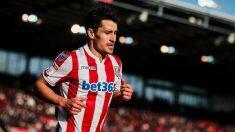 Bojan Krkic con el Stoke (Stoke City)