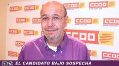 Joan Carles Gallego, ex secretario general de CCOO y candidato de Podemos para el 28-A