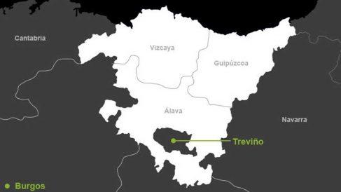 Condado de Treviño.