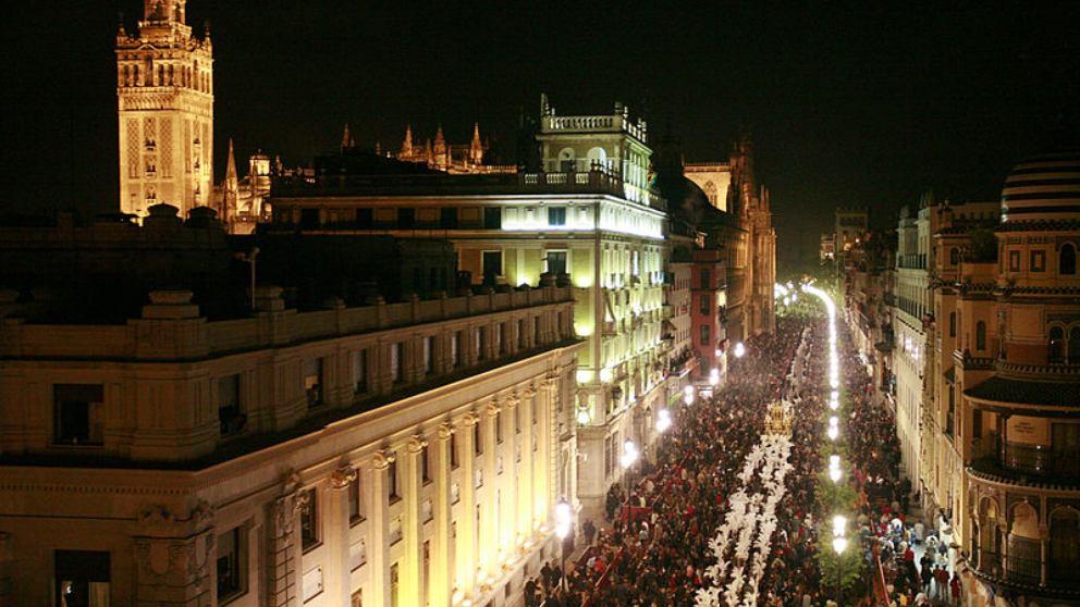 Semana Santa de Sevilla.