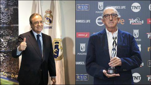 Florentino Pérez y Jaume Roures.