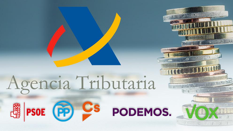 El IRPF entra en campaña electoral coincidiendo con la Campaña de la Renta.