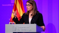 La portavoz de la Generalitat, Meritxell Budó. Foto: Europa Press