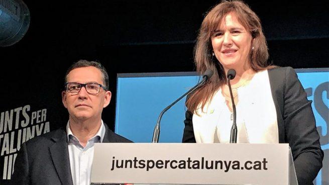 Nart (C's) critica la «miseria moral infinita» de una candidata de JxCat
