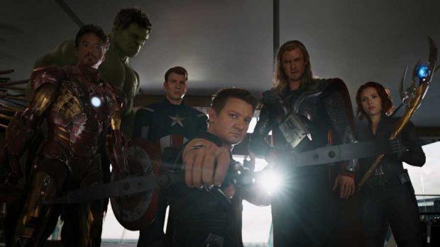 Los seis Vengadores originales