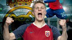 Odegaard está cerca de irse cedido a la Real Sociedad.