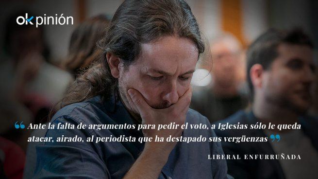 Eduardo Inda es la excusa de Pablo Iglesias