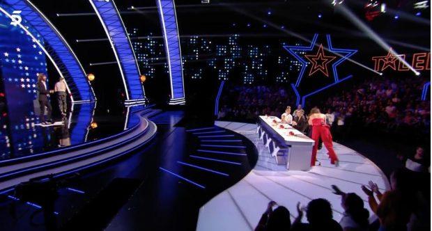 'Got Talent': Paz Padilla pone en apuros a Risto Mejide en directo