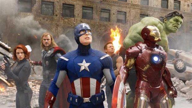 Una escena inolvidable de 'Los Vengadores'