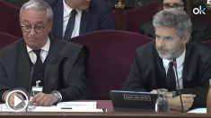 El abogado André Van den Eynde en el Tribunal Suopremo