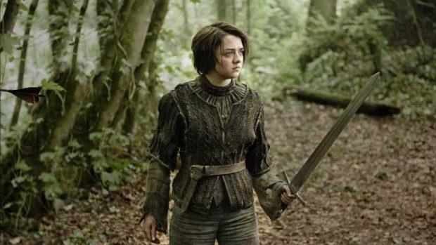 Arya Stark en la tercera temporada
