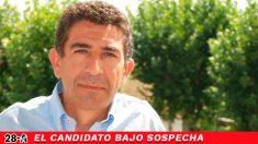 Manuel Alarcón es candidato del PSOE por Granada al Congreso y actual alcalde de Padul (Granada).