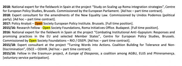 El nº 1 de Podemos en Tarragona trabajaba para el millonario especulador George Soros